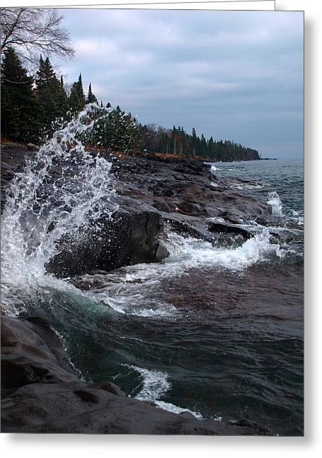 Peterson Nature Photography Greeting Cards - Aqua Shore Greeting Card by James Peterson