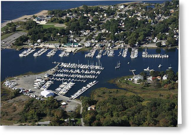 Warwick Greeting Cards - Aqua Vista Marina, Warwick Cove Marina Greeting Card by Dave Cleaveland
