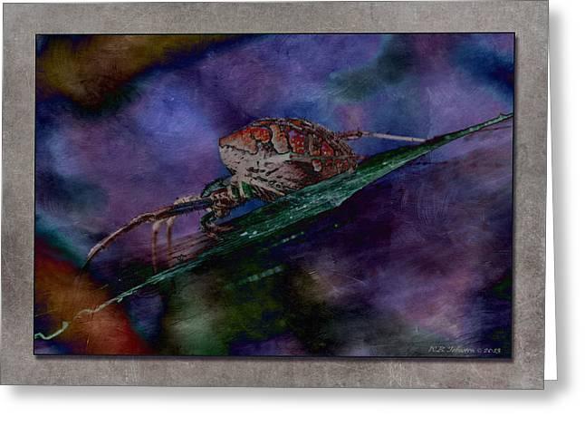 Wb Johnston Greeting Cards - Arachnophobia III Greeting Card by WB Johnston