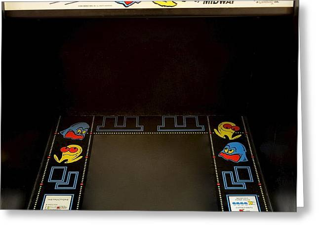 Arcade Madness Greeting Card by Frozen in Time Fine Art Photography