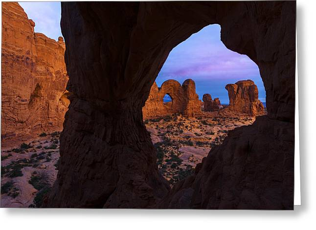 Southern Utah Greeting Cards - Arch Arch Greeting Card by Dustin  LeFevre