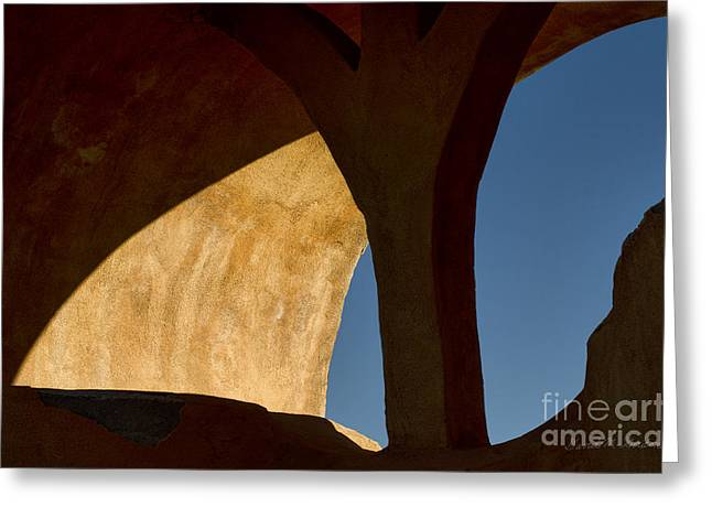 Chromatic Photographs Greeting Cards - Arch II Greeting Card by David Gordon