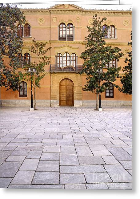 Archbishop Greeting Cards - Archbishops Palace Greeting Card by Guido Montanes Castillo