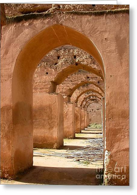 Ancient Ruins Greeting Cards - Arches Greeting Card by Sophie Vigneault