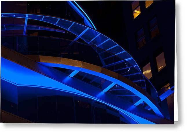 Toy Guitars Greeting Cards - Architectural Artwork Greeting Card by Paul Mangold