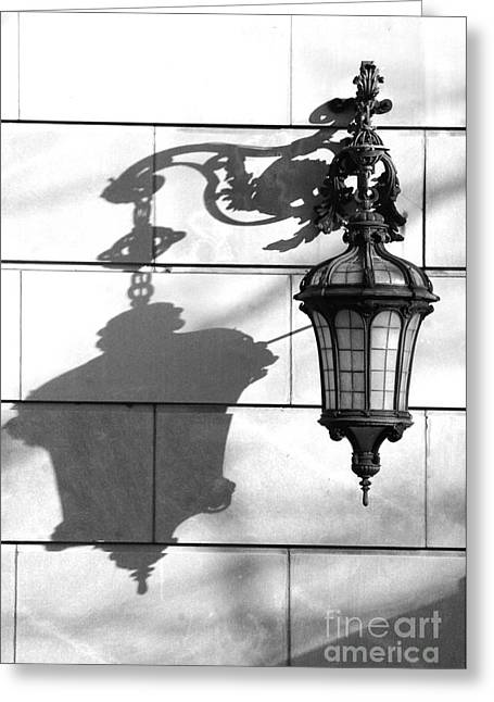 Adspice Studios Art Greeting Cards - Architectural Elements - Park Avenue in Black and White Greeting Card by Anahi DeCanio - ArtyZen Studios