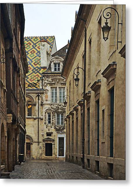 Dijon Greeting Cards - Architecture in Dijon France Greeting Card by Carla Parris