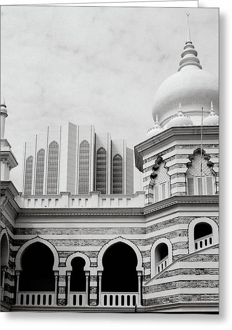 Textile Museum Greeting Cards - Architecture Greeting Card by Shaun Higson