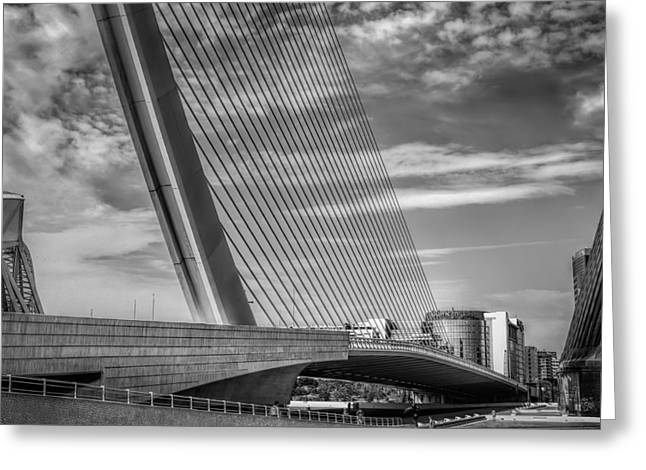 Famous Bridge Greeting Cards - Architecture Valencia I Greeting Card by Erik Brede