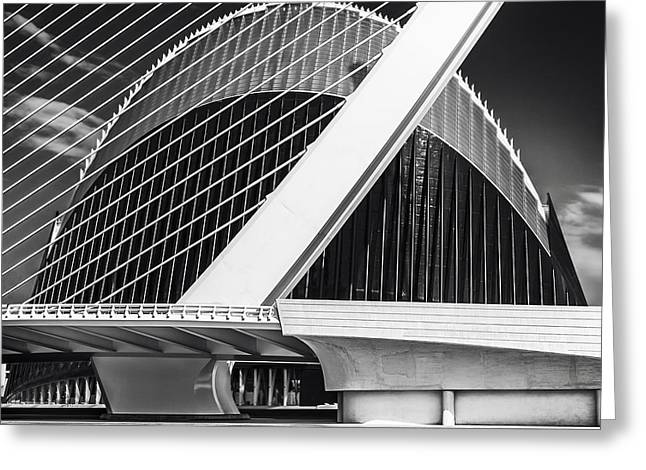 Award Greeting Cards - Architecture Valencia Vl Greeting Card by Erik Brede