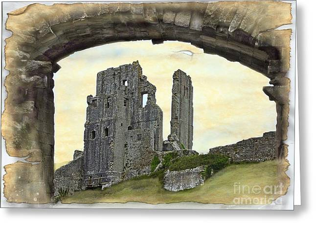 Historic Site Greeting Cards - Archway To History Greeting Card by Linsey Williams
