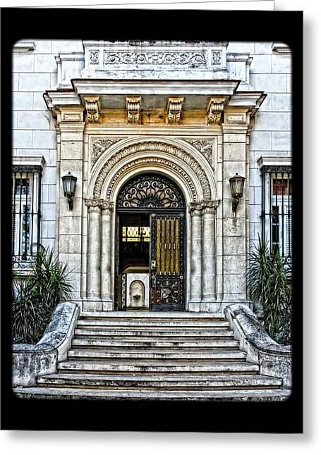 Grate Greeting Cards - Archways Greeting Card by Dawn Currie