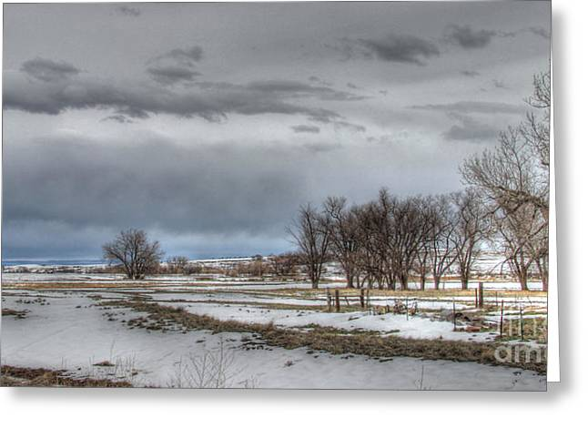 Greeting Card featuring the photograph Ardmore Prairie by Bill Gabbert