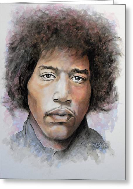 Are You Experienced Greeting Card by William Walts