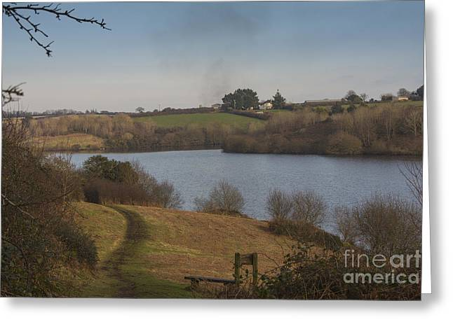 Cornwall Greeting Cards - Argal Reservoir 01 Greeting Card by Brian Roscorla