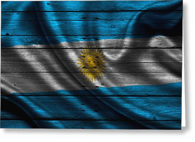 Argentina Greeting Cards - Argentina Greeting Card by Joe Hamilton