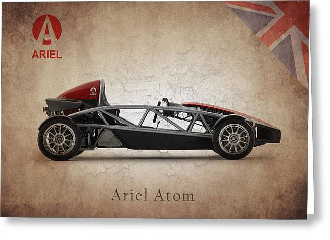 Ariel Atom Greeting Card by Mark Rogan