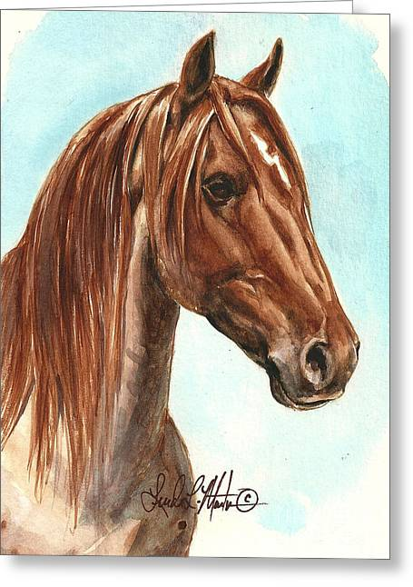 Llmartin Greeting Cards - Aries  Greeting Card by Linda L Martin