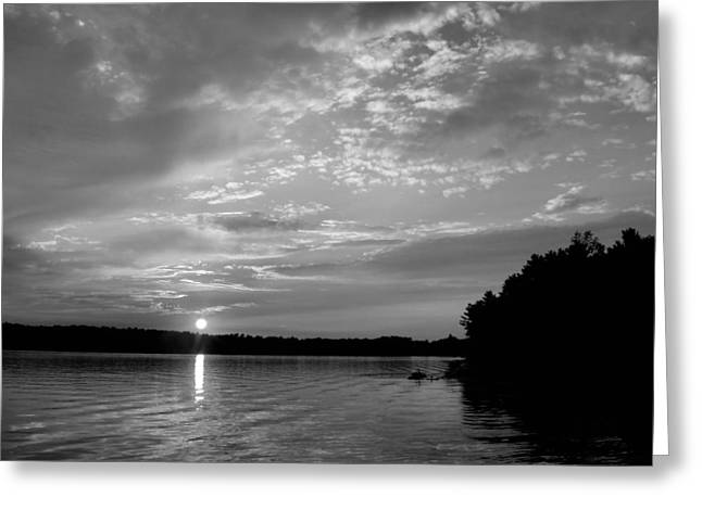 Wisconsin Fishing Greeting Cards - Arise Greeting Card by Tom Druin