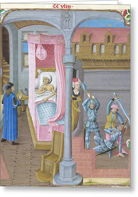 Aristobulus And Antigonus Greeting Card by British Library