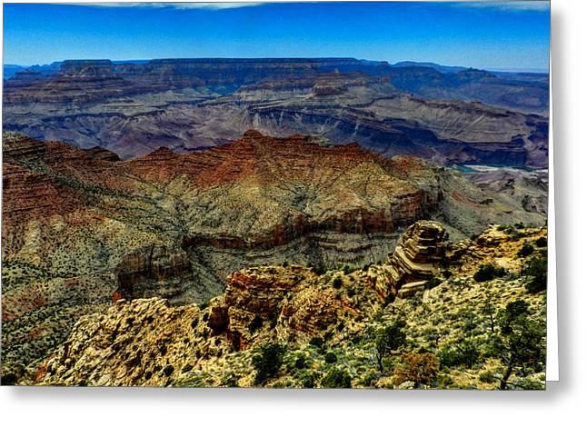 Southwest Greeting Cards - Arizona - Grand Canyon 002 Greeting Card by Lance Vaughn