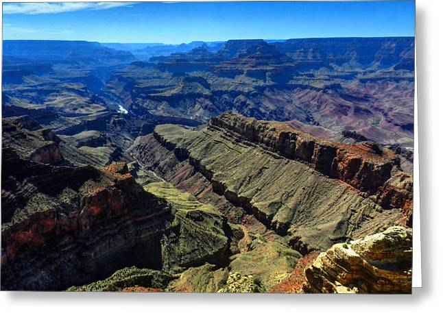 Grand Canyon Greeting Cards - Arizona - Grand Canyon 003 Greeting Card by Lance Vaughn