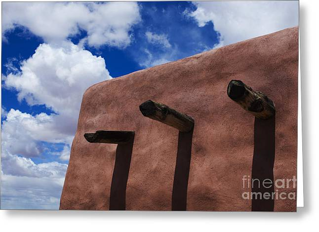 Arizona Land Of Contrasts Greeting Card by Bob Christopher