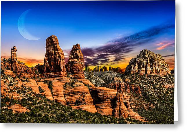 Nature Greeting Cards - Arizona Life Greeting Card by Fred Larson