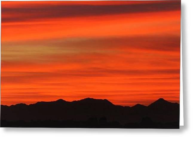 Edward Curtis Greeting Cards - Arizona Morning Greeting Card by Edward Curtis
