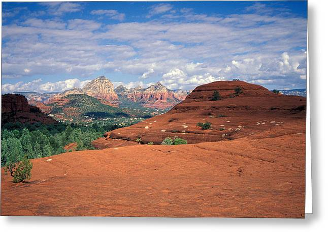 Terrain Greeting Cards - Arizona Sedona Greeting Card by Anonymous