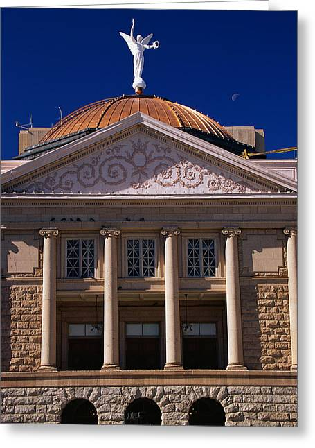 Phoenix Architecture Greeting Cards - Arizona State Capitol Building Phoenix Greeting Card by Panoramic Images