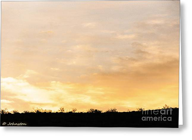Moist Digital Art Greeting Cards - Arizona Sunsets 1 Greeting Card by  Bob and Nadine Johnston