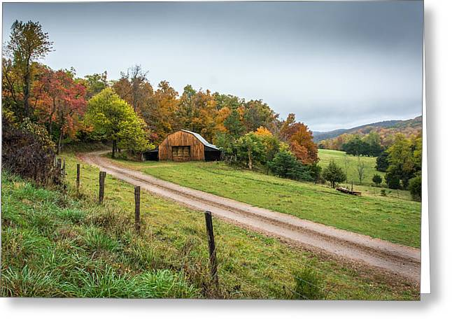 Arkansas Greeting Cards - Arkansas Barn Greeting Card by Larry Pacey