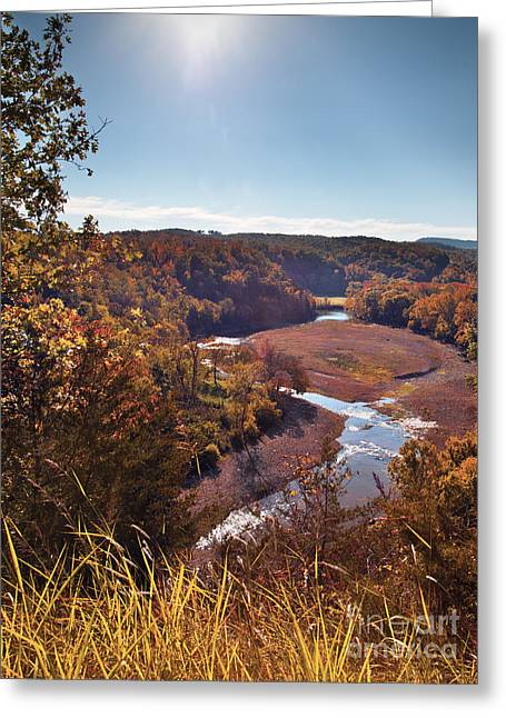 Arkansas Greeting Cards - Arkansas Valley Greeting Card by Brandon Alms