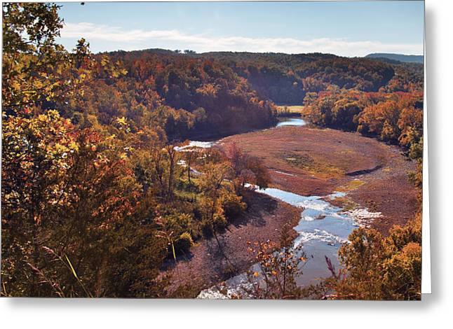 Arkansas Valley Greeting Card by Brandon Alms