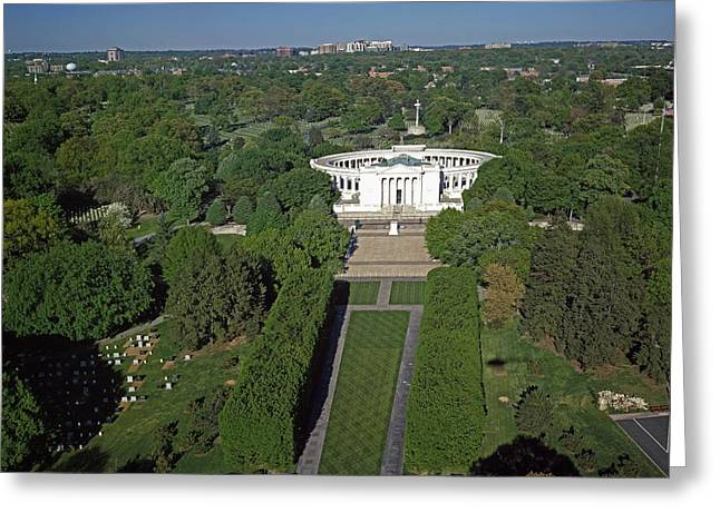 Arlington Greeting Cards - Arlington Cemetery Amphitheater   Greeting Card by Mountain Dreams