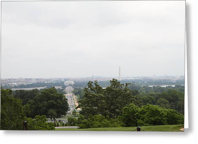 Arlington National Cemetery - 01136 Greeting Card by DC Photographer