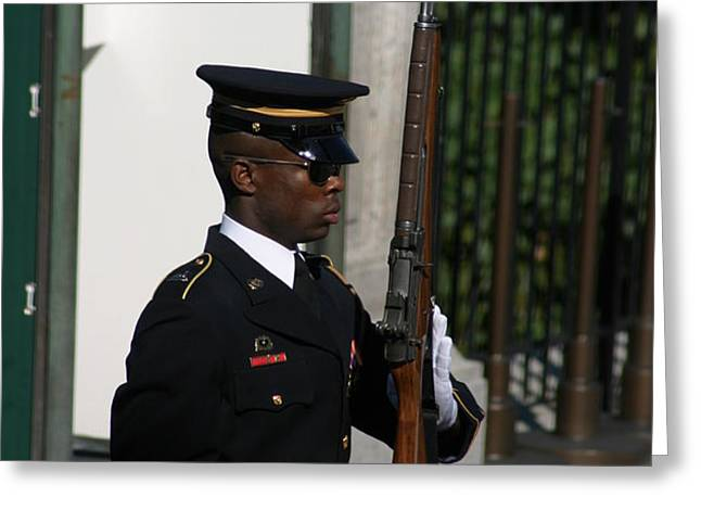 Arlington National Cemetery - Tomb of the Unknown Soldier - 12122 Greeting Card by DC Photographer