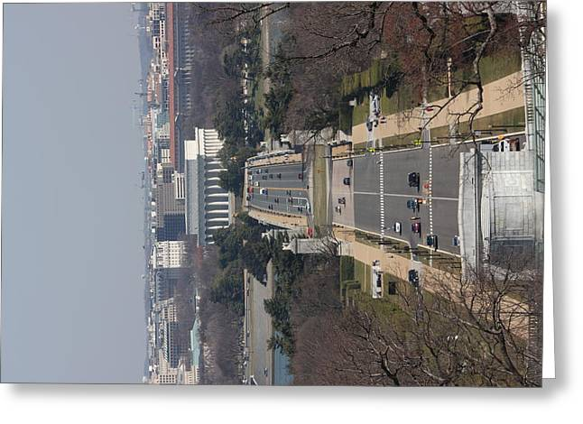 Arlington National Cemetery - View From Arlington House - 12121 Greeting Card by DC Photographer