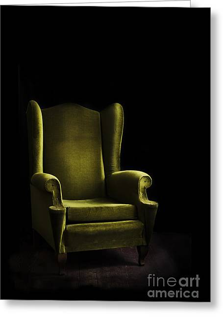 Armchair Greeting Cards - Armchair Greeting Card by Jelena Jovanovic