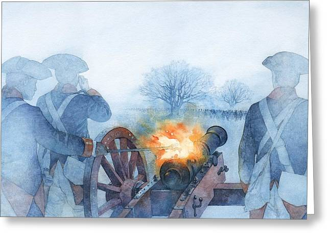 Armed Rebellion Greeting Card by Greg Harlin