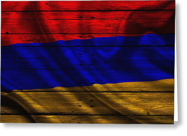 Armenia Greeting Cards - Armenia Greeting Card by Joe Hamilton