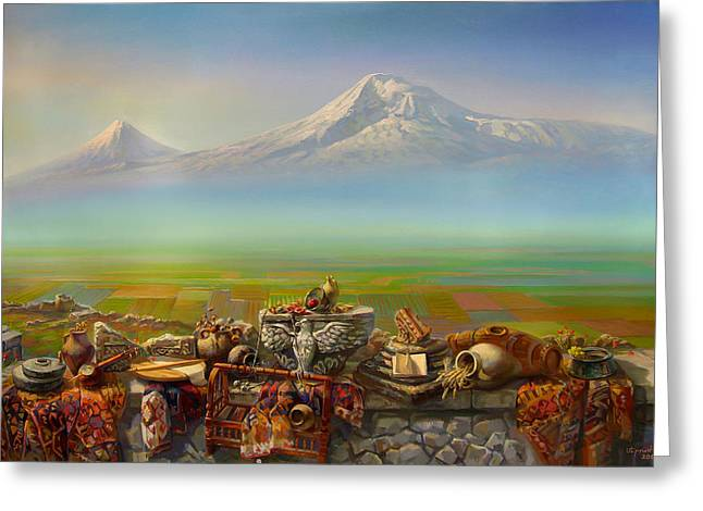 Armenia Greeting Cards - Armenia Greeting Card by Meruzhan Khachatryan