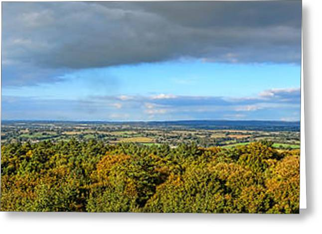 Maine Farmland Greeting Cards - Armorican Landscape Greeting Card by Olivier Le Queinec
