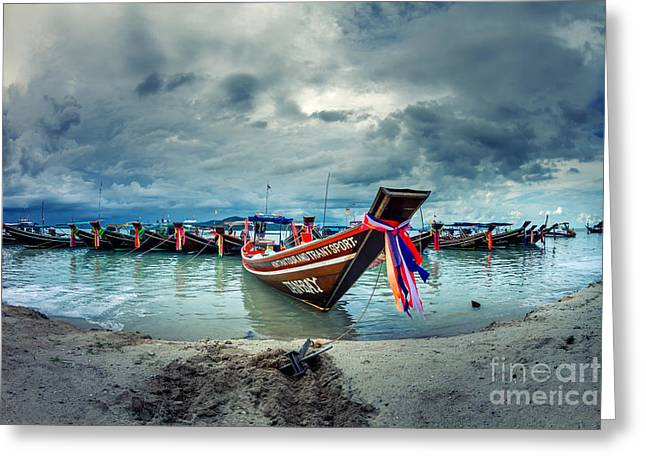 Phuket Greeting Cards - Army Of Me Greeting Card by Stylianos Kleanthous