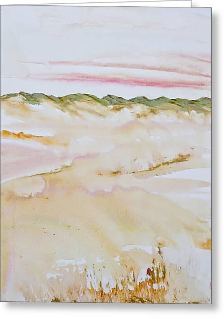 Sanddunes Greeting Cards - Arniston Dune Sunet Greeting Card by Melanie Meyer