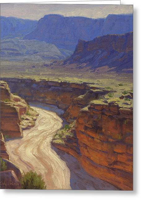 Vermillion Greeting Cards - Around the Bend Greeting Card by Cody DeLong