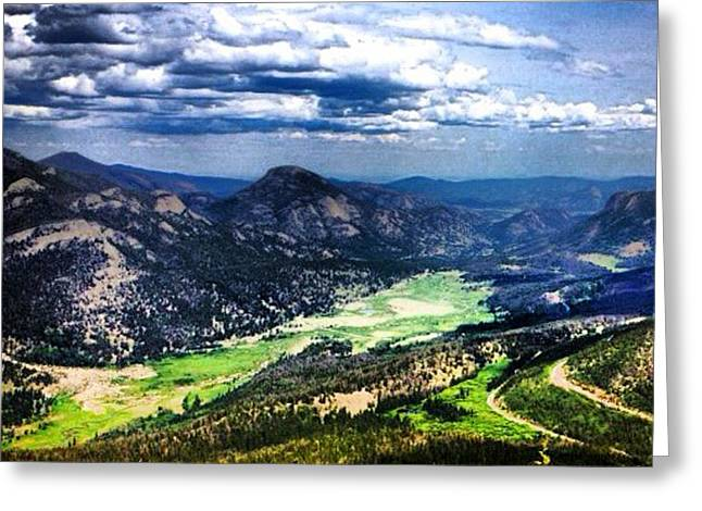 Rocky Mountain National Park Framed Prints Greeting Cards - Around the Bend Greeting Card by Kimberly Nickoson