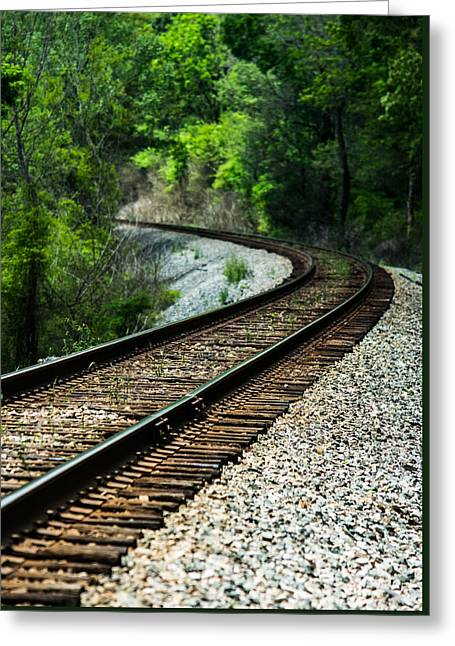 Around The Bend Greeting Card by Parker Cunningham