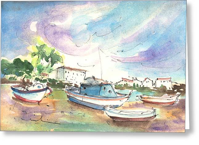 Arrecife In Lanzarote 01 Greeting Card by Miki De Goodaboom